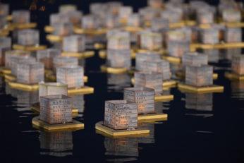 Mise à flot des lanternes à Taïwan le 21 Octobre